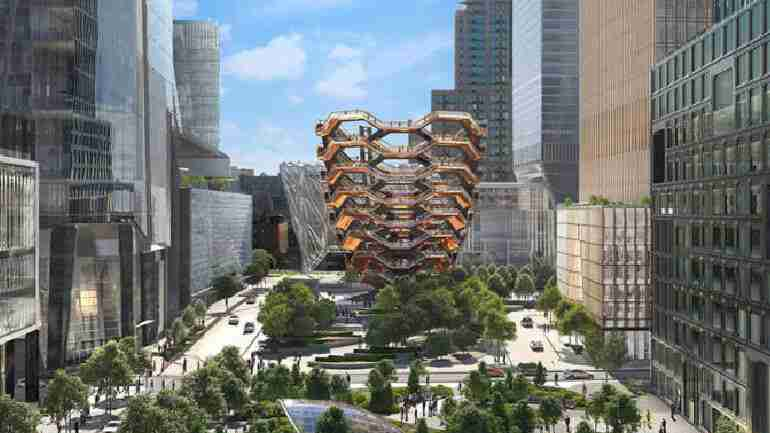 Hudson Yards and the Vessel