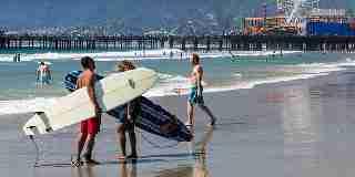 Visit the Santa Monica Pier Los Angeles